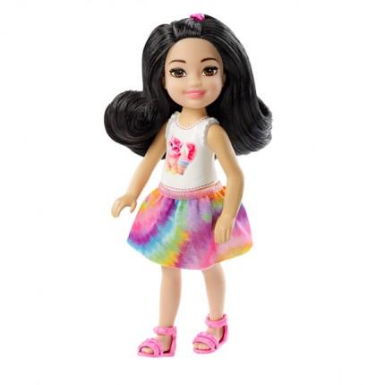 Image of   Barbie Chelsea Dukke med Sort Hår