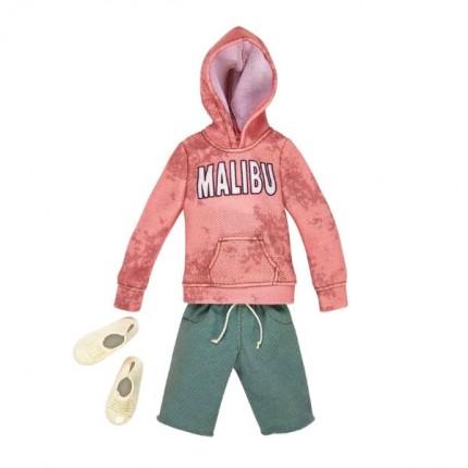 Image of   Barbie Ken Tøj Hættetrøje og shorts