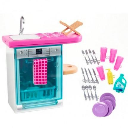 Image of   Barbie Legesæt med Opvaskemaskine