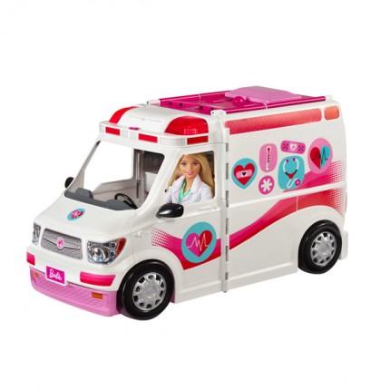 Image of   Barbie Mobil Lægeklinik