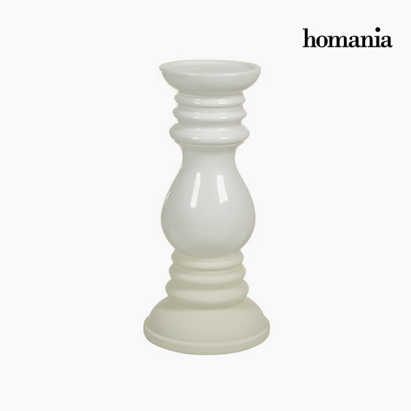 Image of   Beige keramik stearinlysholder by Homania