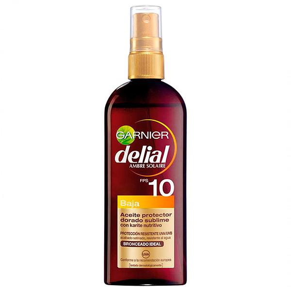 Image of   Beskyttende Olie Delial SPF 10 (150 ml)
