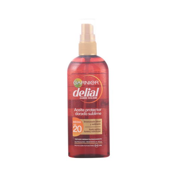Image of   Beskyttende Olie Delial SPF 20 (150 ml)