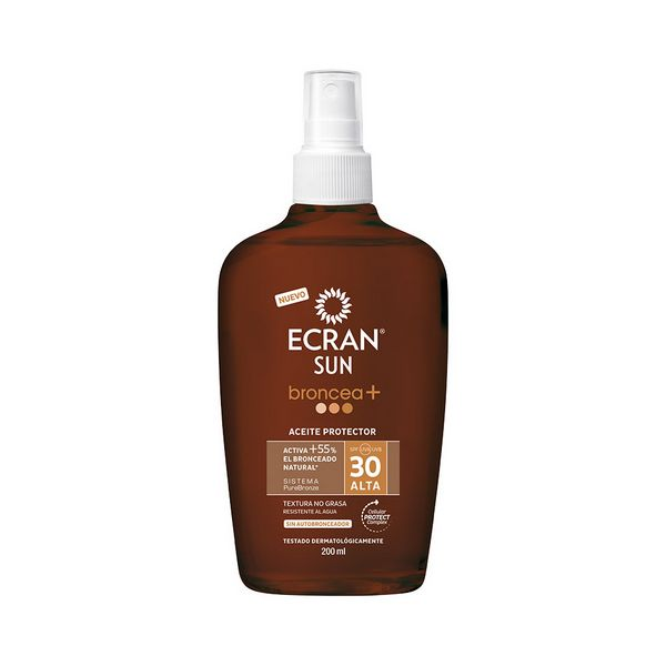 Image of   Beskyttende Olie Ecran SPF 30 (200 ml)