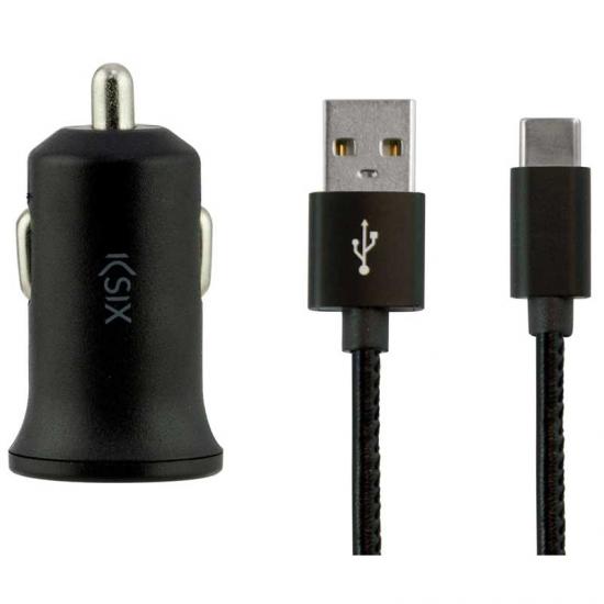 Image of   Biloplader KSIX BXCRC04 USB-C Sort