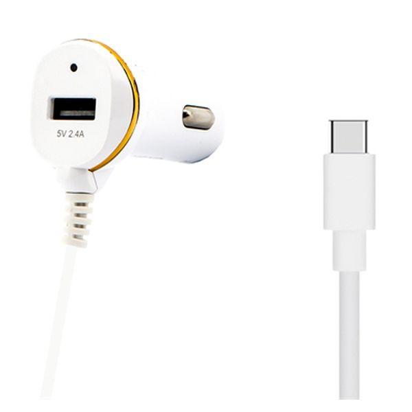 Image of   Biloplader Ref. 138239 USB Hvid