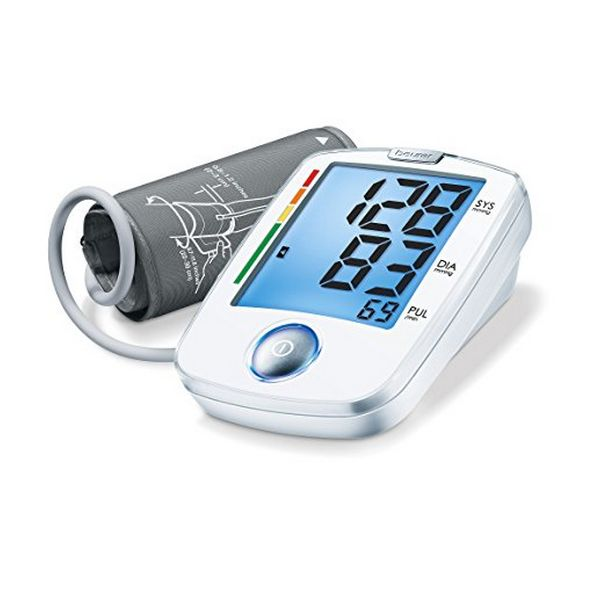 Image of   Blodtryksmåler til arm Beurer BM 44 Hvid