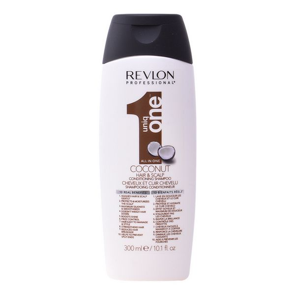 Image of   Blødgørende shampoo Uniq One Coconut Revlon (300 ml)