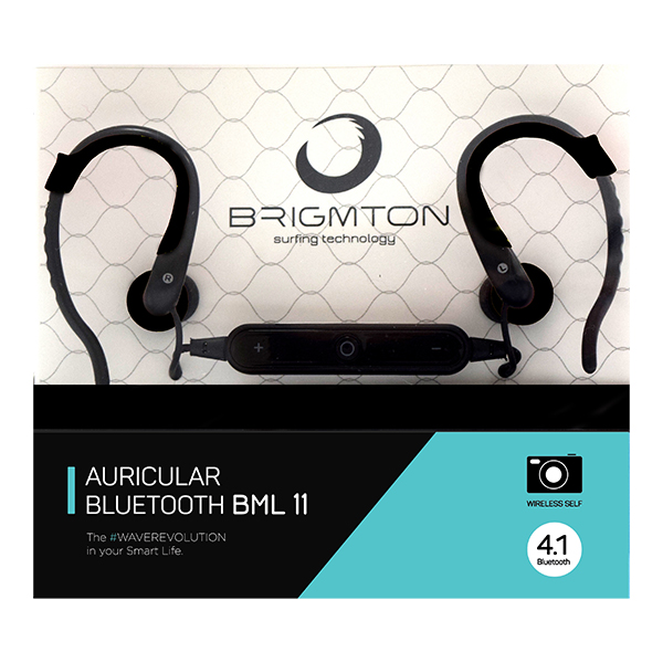 Image of   Bluetooth sportsheadset BRIGMTON BML-11 Sort