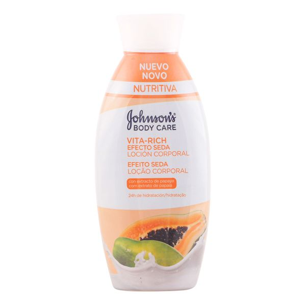 Image of   Body Lotion med Papaya Silke Effekt Vita-rich Johnsons 11012