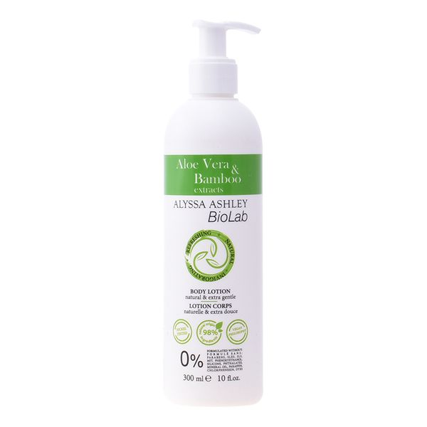 Image of   Bodylotion Biolab Aloe & Bamboo Alyssa Ashley (300 ml)