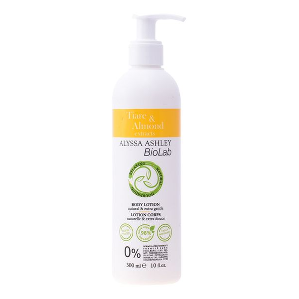 Image of   Bodylotion Biolab Tiare & Almond Alyssa Ashley (300 ml)