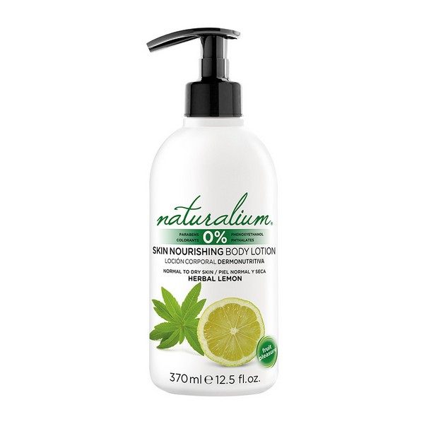 Image of   Bodylotion Herbal Lemon Naturalium (370 ml)