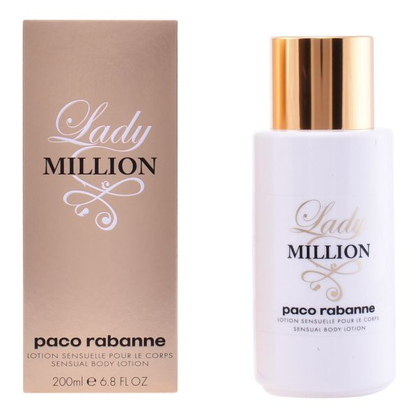 Image of   Bodylotion Lady Million Paco Rabanne (200 ml)