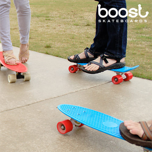 Image of   Boost Fiskeskateboard (4 hjul)