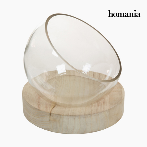 Image of   Borddekoration Glas Træ - Pure Crystal Deco Samling by Homania