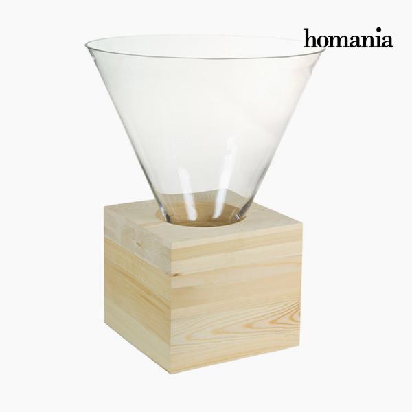 Image of   Borddekoration Glas Træ - Pure Crystal Deco Samling by Homania