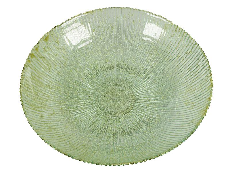 Image of   Bordekoration af genbrugsglas Grøn - Crystal Colours Deco Samling