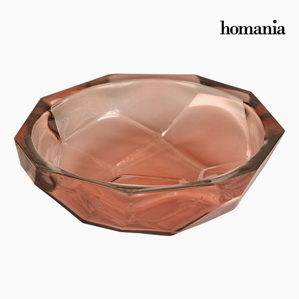 Image of   Bordekoration af genbrugsglas Koral - Crystal Colours Deco Samling by Homania