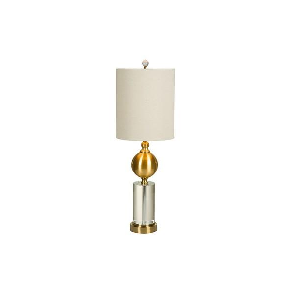 Image of   Bordlampe Brass (25 x 76 x 25 cm)