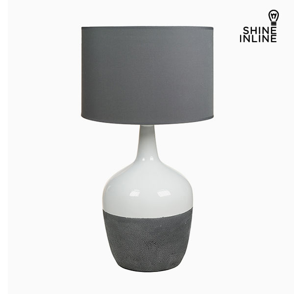 Image of   Bordlampe Hvid Grå by Shine Inline