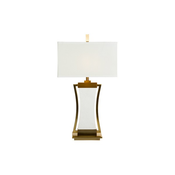 Image of   Bordlampe Marble Silhouette (43 x 76 X 43 cm)