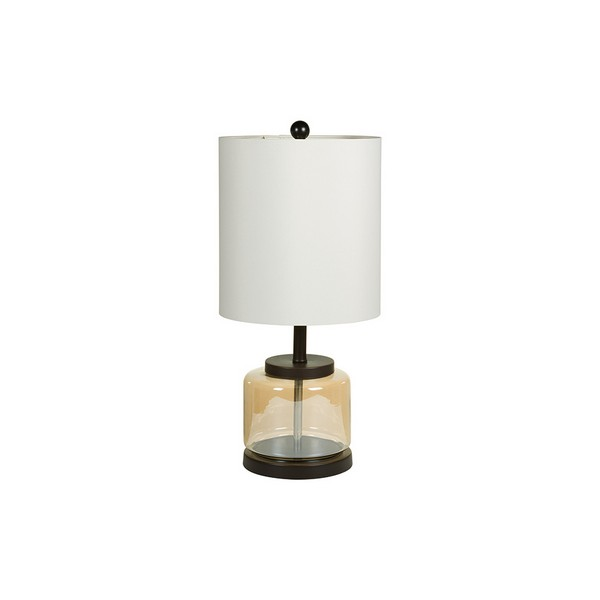 Image of   Bordlampe Transparent (30 x 63 x 30 cm)