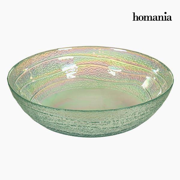 Image of   Bowle af genbrugsglas Gennemsigtig (Ø 18 cm) - Pure Crystal Deco Samling by Homania
