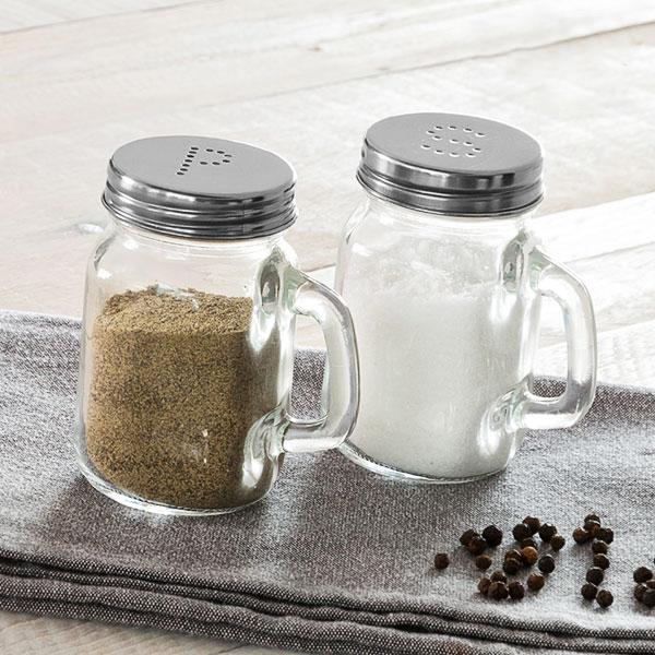 Image of   Bravissima Kitchen Classics Salt og Peberbøsser