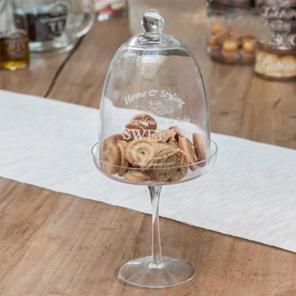Image of   Bravissima Kitchen Klokkeglas til Kager