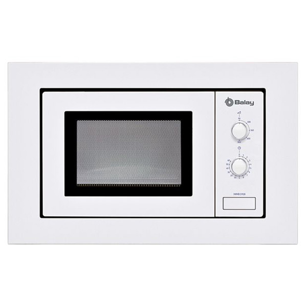 Image of   Built-in microwave Balay 3WMB1918 17 L 800W Hvid