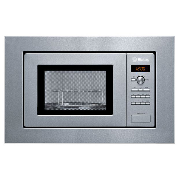 Image of   Built-in microwave with grill Balay 3WGX1929P 18 L 800W Rustfrit stål