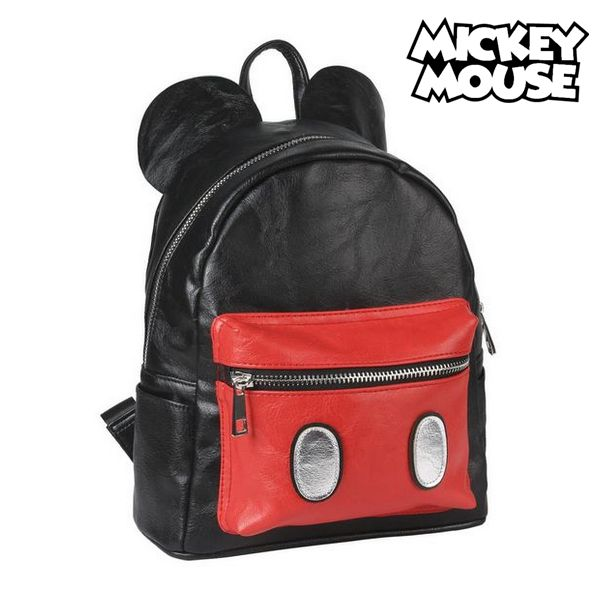 Image of   Casual Rygsæk Mickey Mouse 75582 Sort/rød