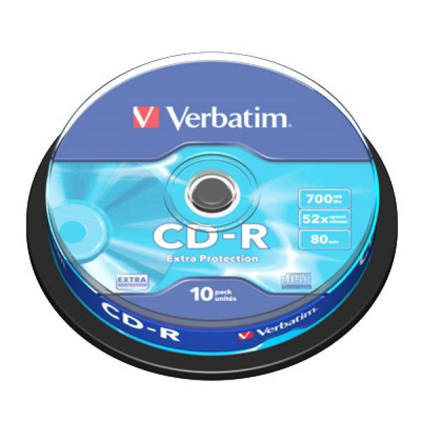 Image of   CD-R Verbatim 43437 52x