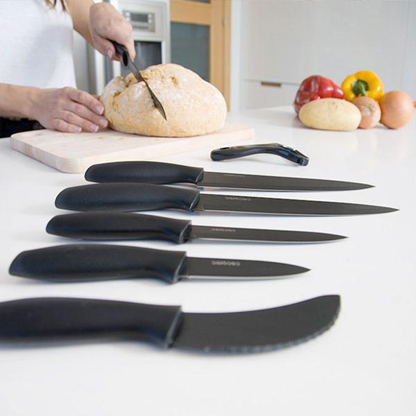 Image of   Cecotec Titanium Professionelle Keramiske Knive (7 stk)