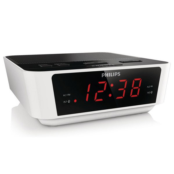 Image of   Clock-radio Philips AJ3115/12 LED FM 1W Hvid