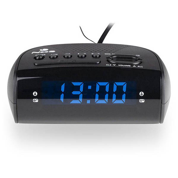 Image of   Clockradio NGS SUNRISE HIT AM/FM LED Sort