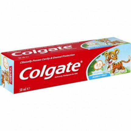 Image of   Colgate Børnetandpasta Frugt Smag - 50ml