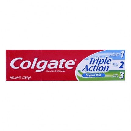 Image of   Colgate Triple Action - 100ml
