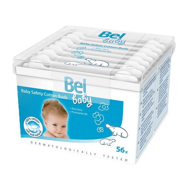 Image of   Cotonetes de Segurança de Algodão Baby Bel (56 uds)