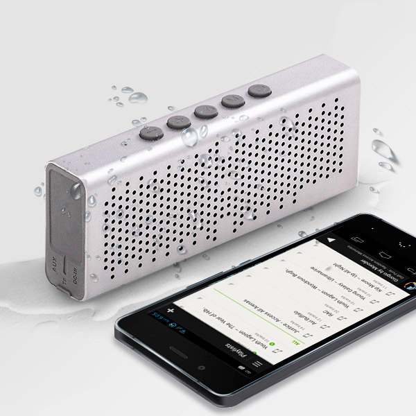 Image of   CuboQ Metal Vandtæt Bluetooth Højtaler