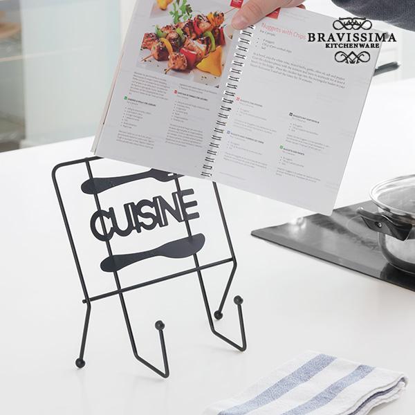 Image of   Cuisine Bravissima Kitchen Staffeli til Opskriftsbog