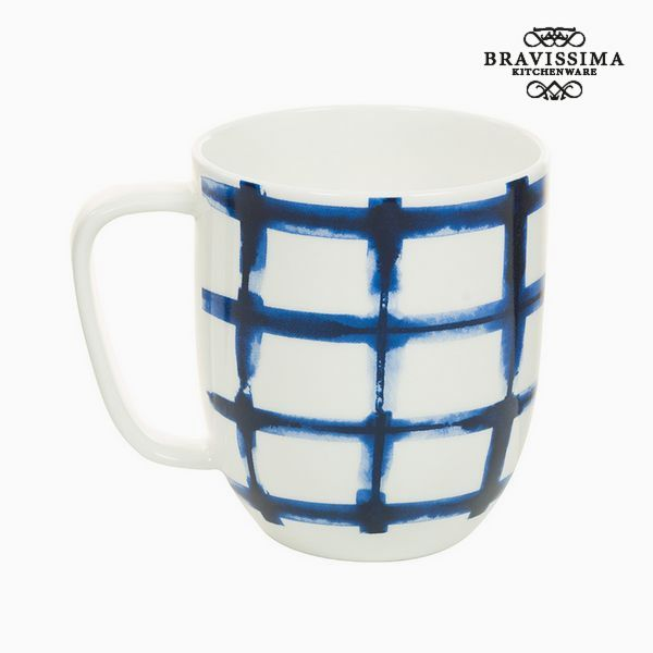 Image of   Cup Porcelæn Kvadratov Hvid - Kitchens Deco Samling by Bravissima Kitchen