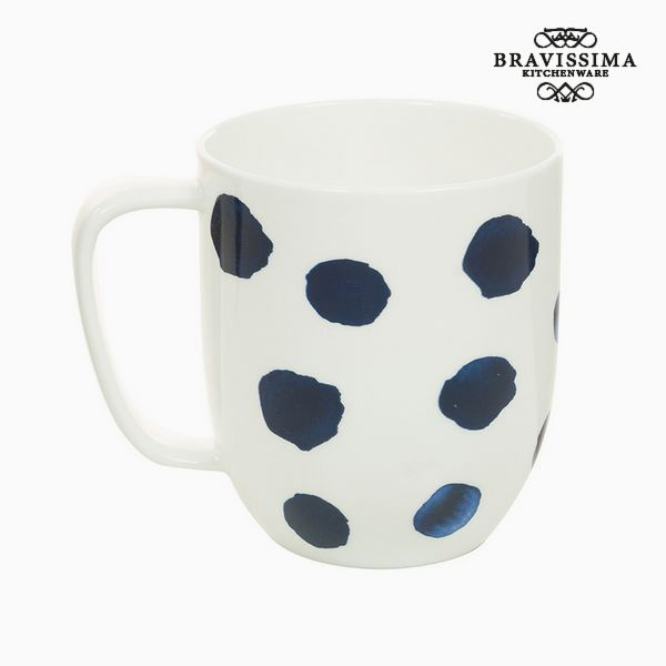 Image of   Cup Porcelæn Mus Blue - Kitchens Deco Samling by Bravissima Kitchen