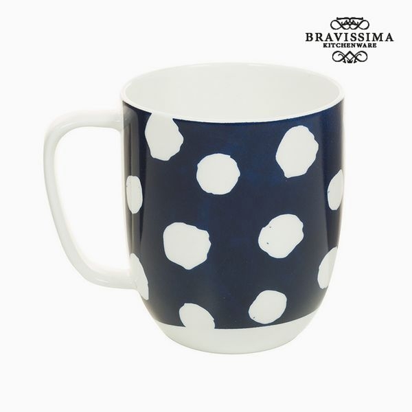 Image of   Cup Porcelæn Mus Hvid - Kitchens Deco Samling by Bravissima Kitchen