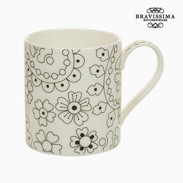 Image of   Cup Porcelæn Sort Beige - Kitchens Deco Samling by Bravissima Kitchen