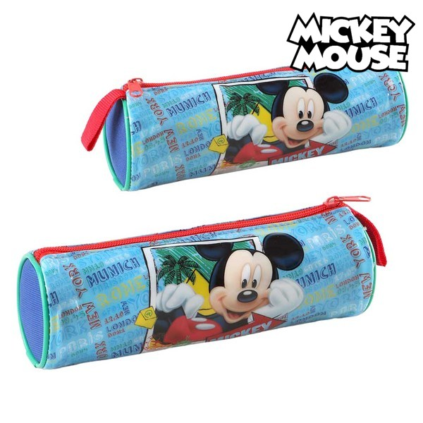 Image of   Cylinder Penalhus Mickey Mouse 32350 Blå