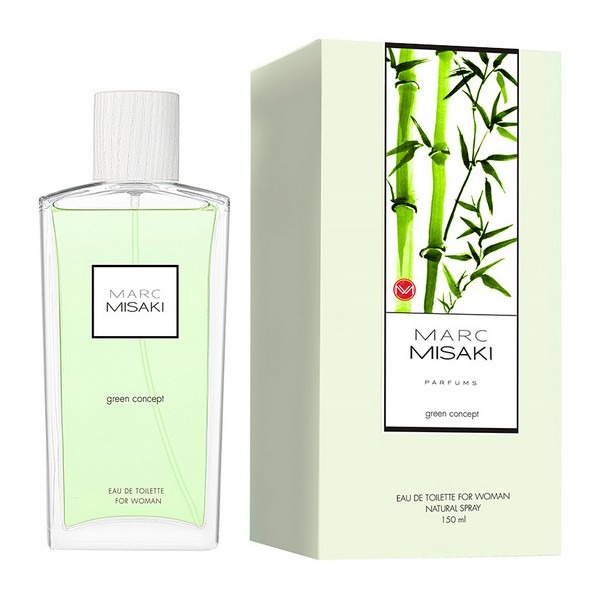 Image of   Dameparfume Marc Misaki For Woman Green Concept Instituto Español EDT (150 ml)