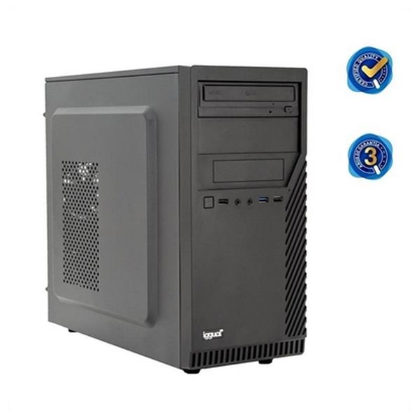 Image of   Desktop pc iggual PSIPCH314 W10Pro i7-7700 8 GB DDR4 1 TB