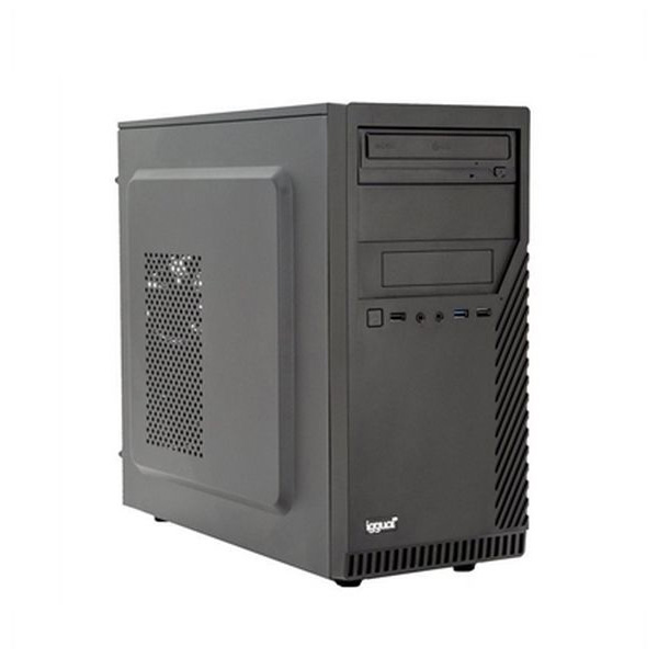 Image of   Desktop pc iggual PSIPCH402 i3-8100 8 GB RAM 120 GB SSD Sort